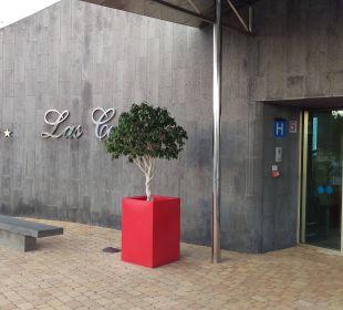 Eingangsbereich Hotel Las Costas