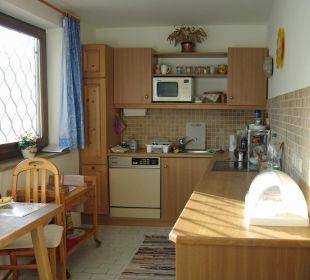 Die heimelige Wohnküche