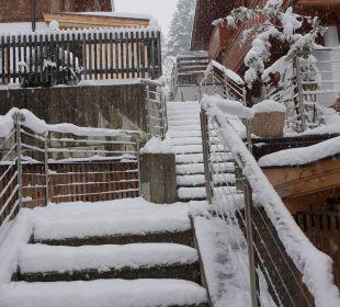 Eingangbereich Alpin-Ferienwohnungen Hochzillertal