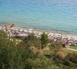 Ausblick auf den Strand