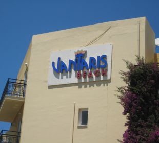Hotelschild Vantaris Beach Hotel
