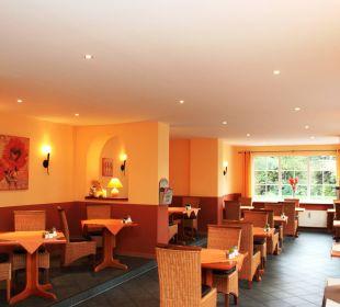 Frühstücksraum Villa Strandkorb Hotel Garni