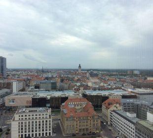 Ausblick aus dem Zimmer  Hotel The Westin Leipzig