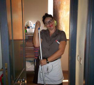 Unsere Putzdame sehr sauber ClubHotel Riu Vistamar