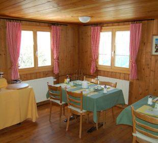 Frühstück-Sääli Gasthaus Alpina