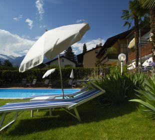 Liegewiese Hotel Ladurner
