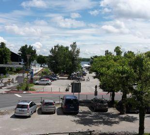 Blick vom Balkon Hotel Neuer am See