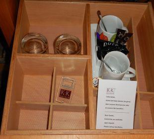Kaffee / Tee K+K Palais Hotel