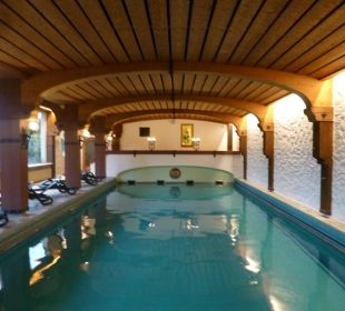 Blick auf den Innenpool Hotel Prinz - Luitpold - Bad