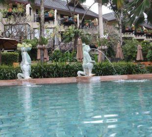 Blick auf die Zimmer Anantara Bophut Resort & Spa