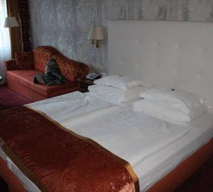 Bett Hotel Stefanie