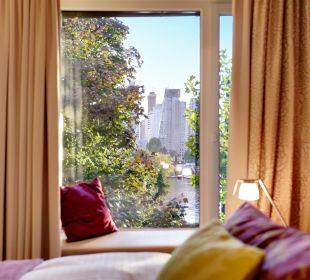 Ausblick vom Zimmer Strandhotel Alte Donau