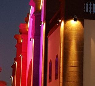 Xmas-Fassade 2016 Lopesan Villa del Conde Resort & Spa