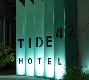 Eingangsbereich Tide42 Hotel Tide42