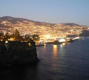 Abendblick vom Balkon Hotel The Cliff Bay (PortoBay)