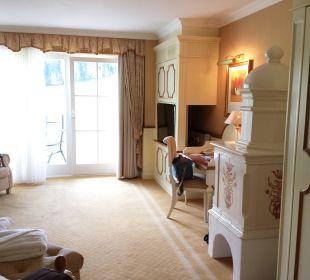 Blick in die Suite Deluxe Hotel Schwarzenstein