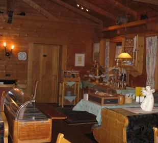 Restaurantbereich der Hausgäste Aparthotel Spitzer