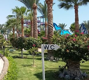 Gartenanlage Hawaii Le Jardin Aqua Park Resort