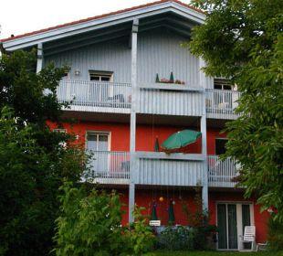 Ein blick aufs Balkon Landhaus Korte