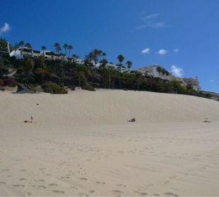 Strandabschnitt vor der Anlage Hotel Rocamar Beach