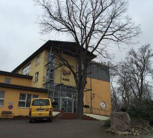Eingang Familotel Family Club Harz