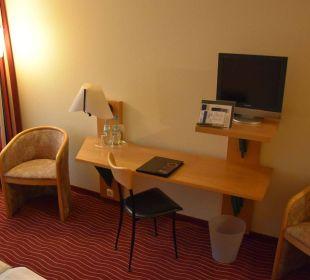 TV, Tisch HKK Hotel Wernigerode