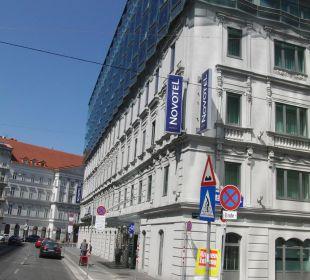 Novotel von aussen Hotel Novotel Wien City