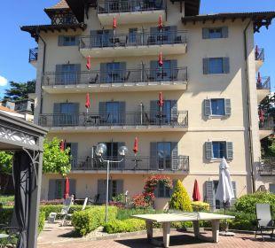 Haus 2 aus Pool-Sicht Hapimag Resort Merano