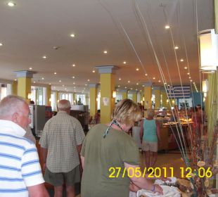 Sturm auf das Buffet Hotel Royal Belvedere