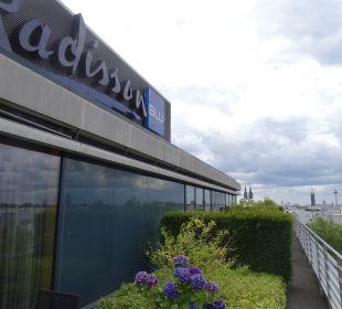 Ausblick Radisson Blu Hotel Köln