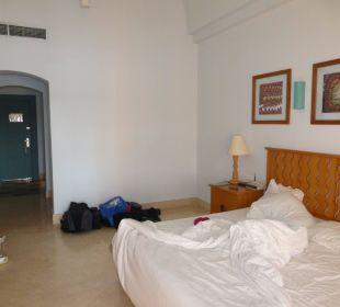 Zimmer mit hoher Decke