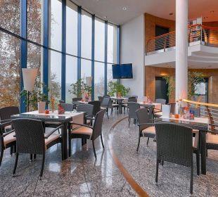Halle mit Wintergarten Hotel Meerane