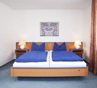 Komfortdopplezimmer Hotel Willinger Mitte