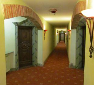 Flur Hotel Forsthaus Damerow