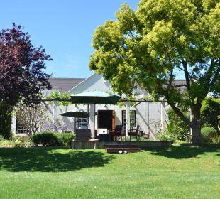 Ansicht vom Garten 4 Heaven Guesthouse