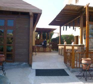 Außenbereich des Restaurants Arena Inn Hotel, El Gouna