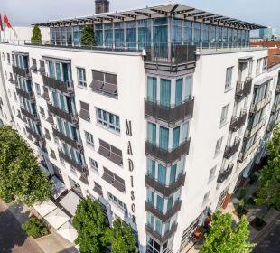 Außenansicht The Madison Hotel Hamburg