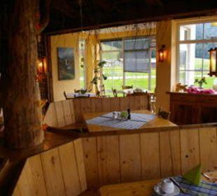 Unser Tisch für´s Abendessen Gasthof Schwabenhof