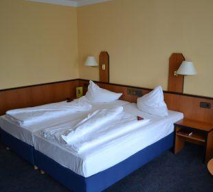Modernes Zimmer Hotel Markkleeberger Hof