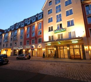 Außenansicht Hotel Hotel Holiday Inn Nürnberg City Centre