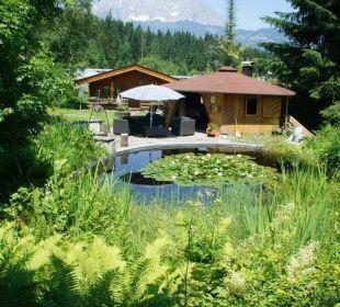 Grillhaus am Seerosenteich Gartenhotel Rosenhof