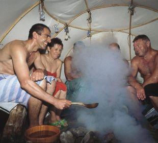 Saunalandschaft in den Badegärten Eibenstock Reit- & Sporthotel Eibenstock
