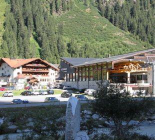 Talstation Rifflseebahn und Hotel Mittagskogel Sportiv-Hotel Mittagskogel