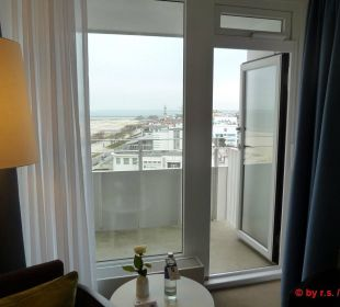 Zugang zum Balkon Hotel Neptun