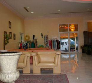 Hotellobby Hotel Flamingo Beach Resort