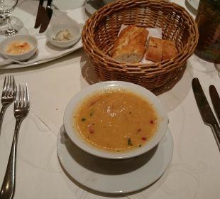 Suppe Abendessen Hotel Bernstein Rügen
