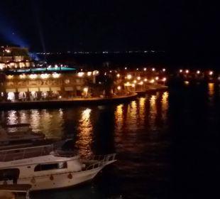 Abendstimmung im Hotelhafen