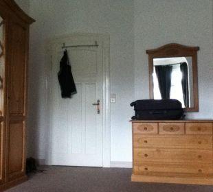Blick zur Tür Wellnesshotel Jagdhaus