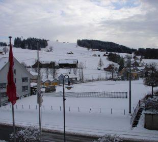 Ausblick vom Zimmer Nr. 18 Hotel Appenzellerhof