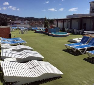 Our Terrace and children's pools Hotel Xaine Park